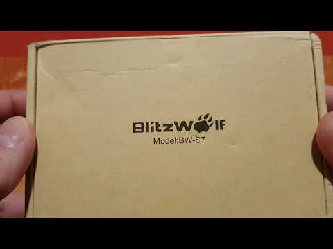 Banggood [Qualcomm Certified]BlitzWolf® BW-S7 QC3.0 40W 5 USB Charger - EU Plug