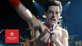 Does Bohemian Rhapsody do justice to Freddie Mercury's Bisexuality?   Rami Malek Interview