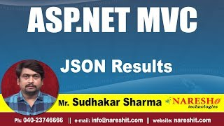 JSON Results in MVC   asp.net MVC Tutorials   By Mr.Sudhakar Sharma