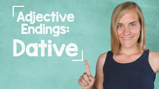 German Lesson (137) - Adjective Endings - Dative - Definite And Indefinite Articles - A2