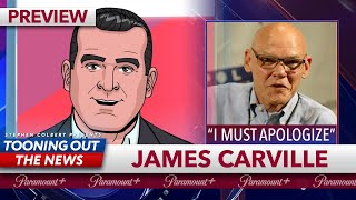 """JAMES CARVILLE: """"I'VE BEEN ON THE WRONG SIDE OF EVERYTHING"""""""