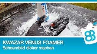Kwazar Schaumsprüher Venus Foamer - Schaumbild dicker machen mit Gloria Schaumpatronenset - 83metoo
