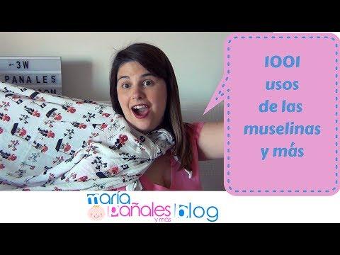 1001 usos de las muselinas de los bebés | María Pañales y Más