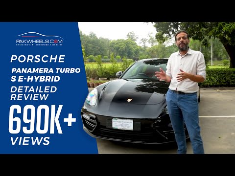 Porsche Panamera Turbo S E-Hybrid | Expert Review