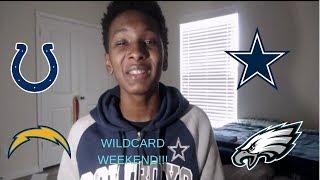 WILDCARD WEEKEND!!!    Post Wildcard Thoughts