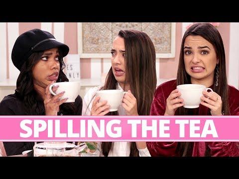 SAVAGE SQUAD'S MOST SAVAGE MOMENT?!   Tea Time w/ Teala Dunn & Merrell Twins