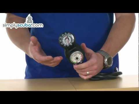 Oceanic Swivel Navcon Triple Gauge – www.simplyscuba.com