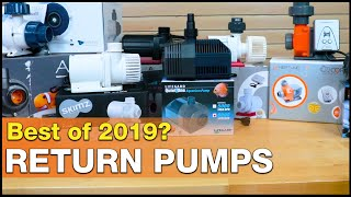 Which submersible return pump gets your vote? Best saltwater aquarium return pump of 2019!