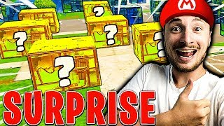 *NEW* SURPRISE PARTIE sur FORTNITE BATTLE ROYALE !!!
