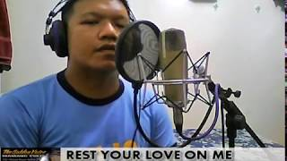 REST YOUR LOVE ON ME covered by Mamang Pulis