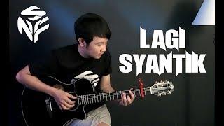 (Siti Badriah) Lagi Syantik - Nathan Fingerstyle   Guitar Cover   Guidrum NFS