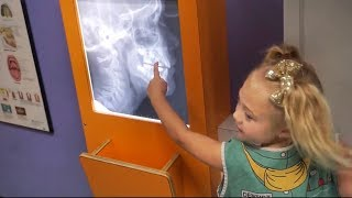 EVERLEIGH PLAYS PRETEND CHILDRENS MUSEUM!