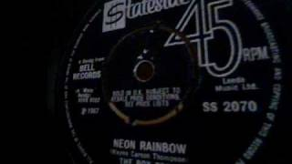 THE BOXTOPS  Neon Rainbow /  She Knows How   Original vinyl 45  ( 1967)