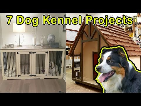 7 Awesome Dog House Or Kennels - DO IT YOURSELF PROJECTS