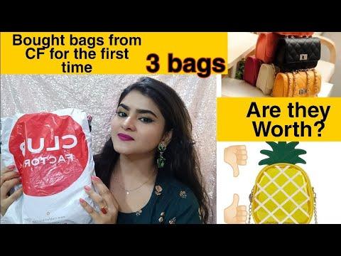 Club factory haul   CLUB FACTORY bags haul   HONEST REVIEW   Bag haul INDIA   Ria Das