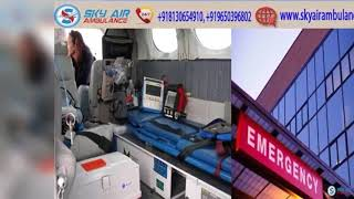 Choose Air Ambulance from Bhubaneswar with Modern Medical Convenience