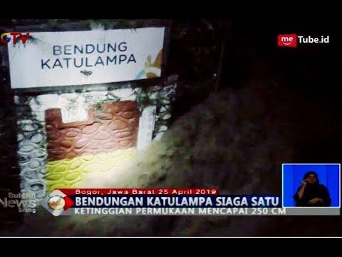 Puncak Bogor Diguyur Hujan Deras, Bendungan Katulampa Siaga 1 - BIS 26/04