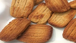 Atta Biscuit Recipe Without Oven | Eggless Atta Biscuit | आटा बिस्कुट  खस्ता  कुरकुरे
