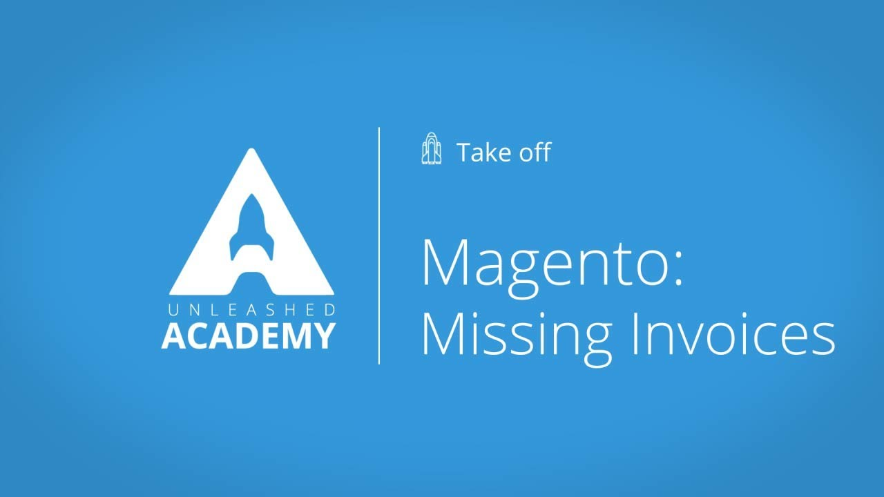 Magento: Missing Invoices YouTube thumbnail image