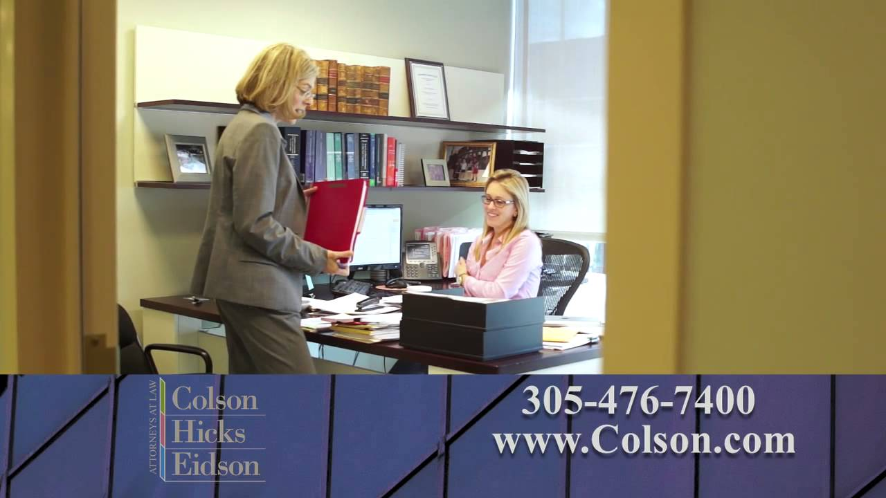 What is Different About the Nationwide Personal Injury Law Firm Colson Hicks Eidson?