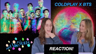 Coldplay X BTS - My Universe (Official Lyric Video) REACTION!