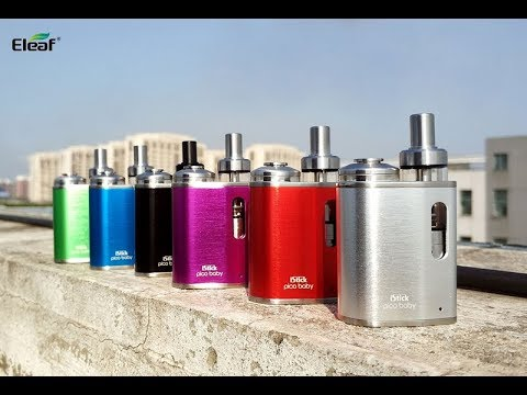 YouTube Video zu Eleaf iStick Pico Baby Starterset 1050 mAh