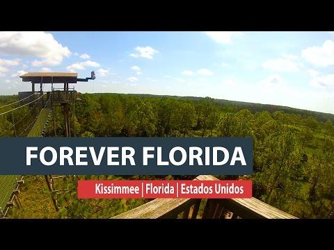Tirolesas incríveis para curtir no Forever Florida