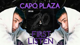 CAPO PLAZA   20 (Album Reaction)