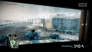 Battlefield Bad Company 2 BMD-3 BAKHCHA AA Demo Footage (HD)
