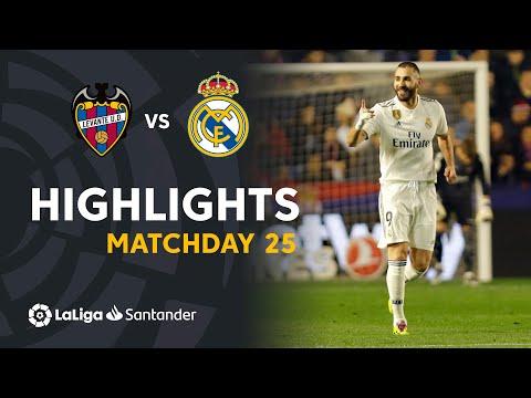 Highlights Levante UD vs Real Madrid (1-2)