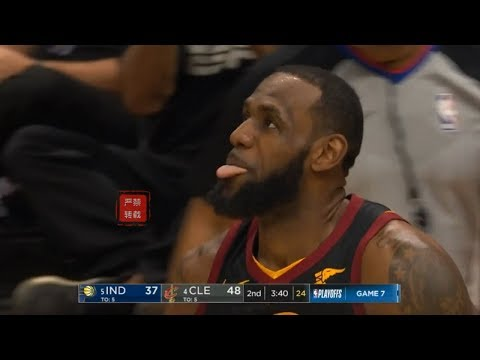 LeBron James Activates King James Mode!Eating Entire Pacers Team Alive