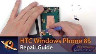 HTC Windows Phone 8S Screen Replacement Repair Guide