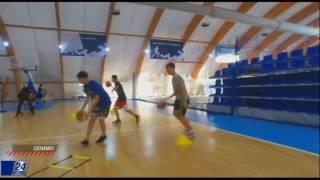 Баскетбол в Астане. Телеканал Хабар 24 об открытии академии.