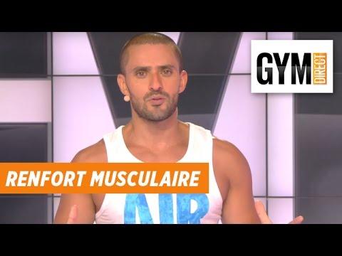 De différentes formes des muscles
