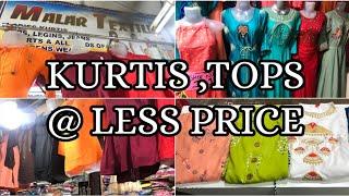 Latest Fresh Tops &  Kurtis Collections In Tamil | குறைந்த விலையில் பெண்களுக்கு அழகான Kurtis