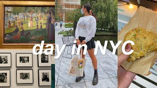 a day in nyc vlog ✨ yummy food & museum of modern art