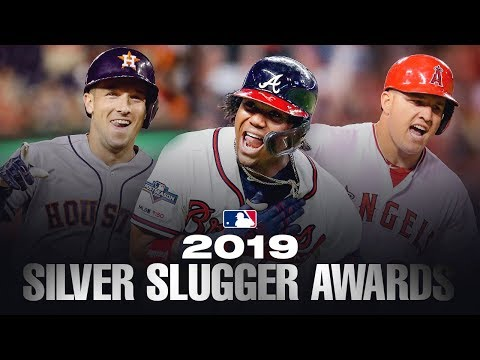 The best hitters in MLB! 2019 MLB Silver Sluggers