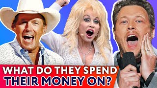 Top 10 Richest Country Stars: What To Spend Money On? | ⭐OSSA