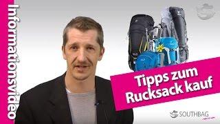 Der richtige Rucksack - Tipps zum Kauf