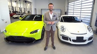New VANTAGE VS PORSCHE 911 GT3! WHO DID IT BETTER!?