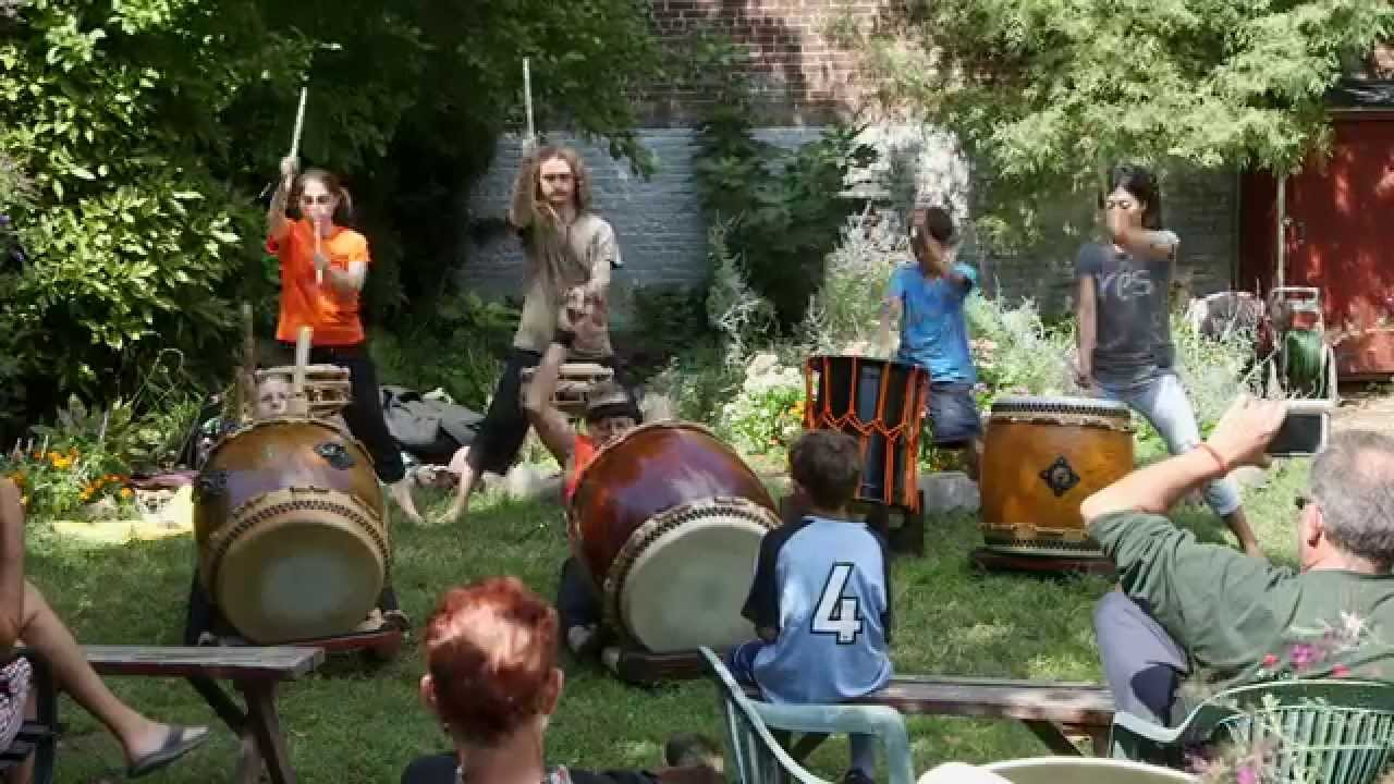 A 2015 taiko drum performance by KWTC Ensemble