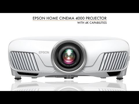 Epson Home Cinema 4000 4K Capable HDR Projector Under $2000