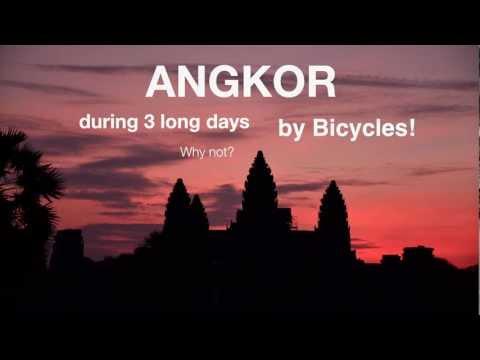 Ar velosipēdu ekskursijā pa Ankoras tempļiem