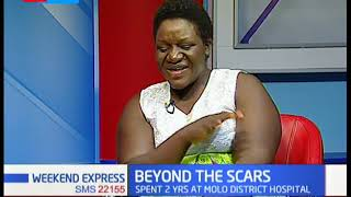 Gospel artiste Molly Kemunto, survived a motorbike accident in 2010 | Beyond the Scars (PART 2)