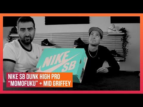 """On te présente les Nike SB Dunk High Pro """"Momofuku"""" et Mid Griffey"""
