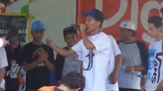 preview picture of video 'batalla de MC's en Usulután 22-11-2014  (El Flaco 503)'