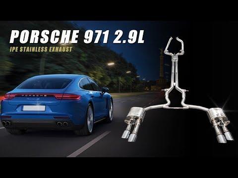 The iPE Exhaust for Porsche 971 Panamera 2.9T