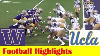 UCLA vs Washington Football Game Highlights 10 16 2021