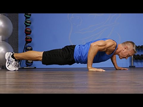 Alternating Staggered Pushup