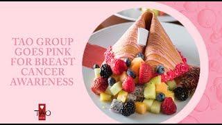 TAO Cares  Breast Cancer Awareness